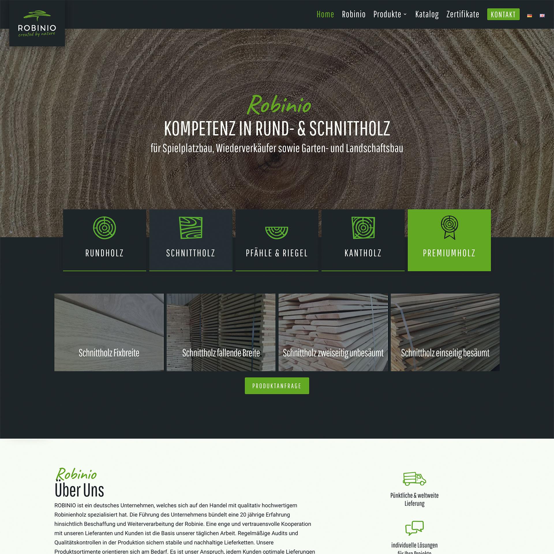 Entwicklung eines Webdesign in Potsdam